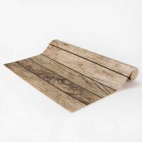 Vinyl Teppich MATTEO Tiles Used Style Grey 118 x 180 cm