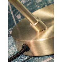 Tischlampe Valencia Metall Gold