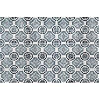 Vinyl Teppich MATTEO Tiles royal petrol rim