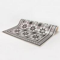 Vinyl Teppich MATTEO Tiles royal brown 50 x 120 cm