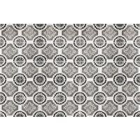 Vinyl Teppich MATTEO Tiles royal brown 90 x 135 cm
