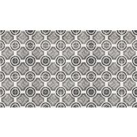 Vinyl Teppich MATTEO Tiles royal brown 90 x 160 cm