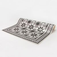 Vinyl Teppich MATTEO Tiles Morrocan rose 70 x 180 cm