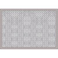 Vinyl Teppich MATTEO Tiles Morrocan rose 140 x 200 cm