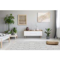 Vinyl Teppich MATTEO Tiles Morrocan rose 198 x 300 cm