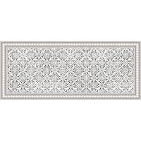 Vinyl Teppich MATTEO Tiles Morrocan beige 50 x 120 cm