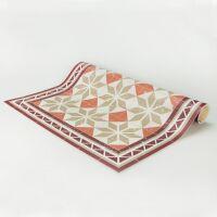 Vinyl Teppich MATTEO Tiles Morrocan beige 70 x 180 cm