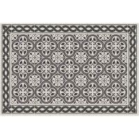 Vinyl Teppich MATTEO Tiles portugese black 40 x 60 cm