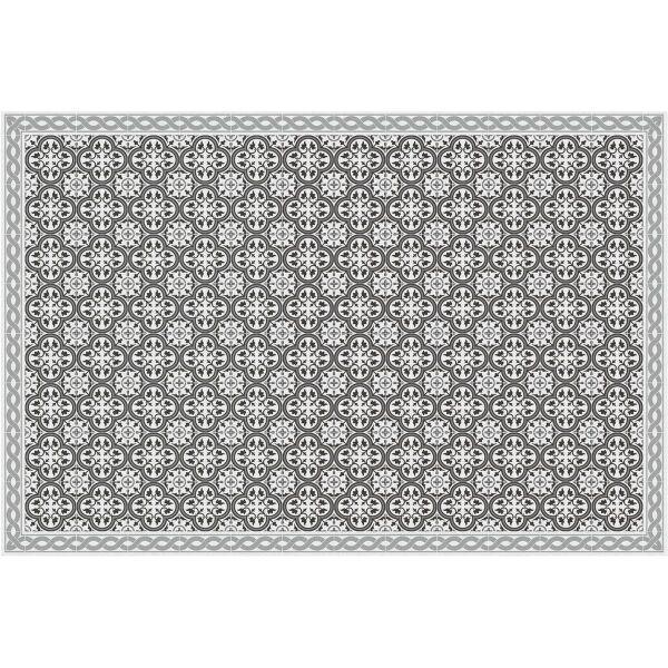 Vinyl Teppich MATTEO Tiles portugese grey