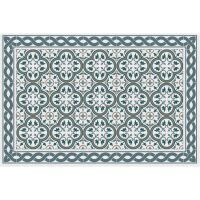 Vinyl Teppich MATTEO Tiles portugese Blue 40 x 60 cm