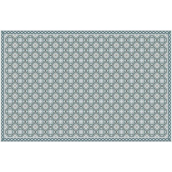 Vinyl Teppich MATTEO Tiles portugese Blue 118 x 180 cm