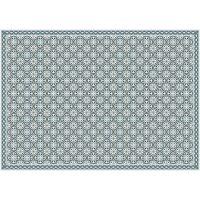 Vinyl Teppich MATTEO Tiles portugese Blue 170 x 240 cm
