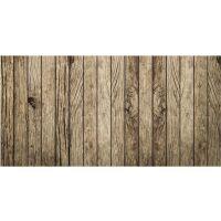 Vinyl Teppich MATTEO Old Wood 70 x 140 cm