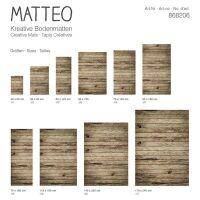 Vinyl Teppich MATTEO Old Wood 140 x 200 cm