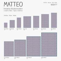 Vinyl Teppich MATTEO Scandinavian 3 70 x 180 cm
