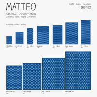 Vinyl Teppich MATTEO Scandinavian 8 50 x 120 cm