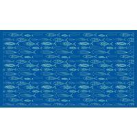 Vinyl Teppich MATTEO Scandinavian 12 blau 90 x 160 cm