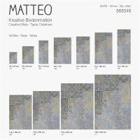 Vinyl Teppich MATTEO Mix Match 4 90 x 160 cm