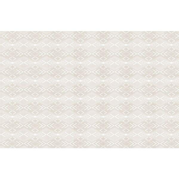 Vinyl Teppich MATTEO Ethno 7 Beige 118 x 180 cm