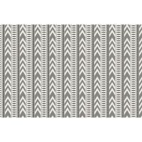 Vinyl Teppich MATTEO Ethno 4 grau 118 x 180 cm