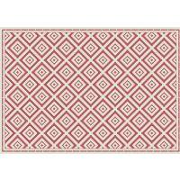Vinyl Teppich MATTEO Ethno 1 rot 140 x 200 cm