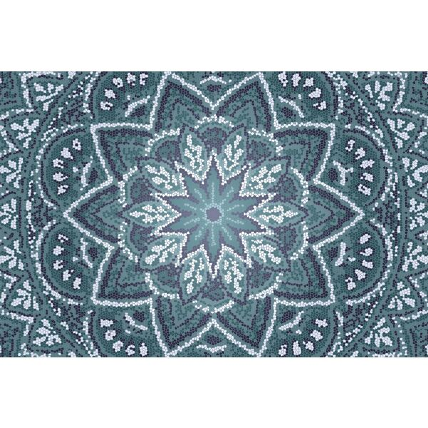 Vinyl Teppich MATTEO Mosaic 2 40 x 60 cm