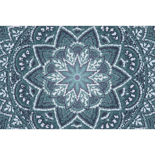 Vinyl Teppich MATTEO Mosaic 2 60 x 90 cm