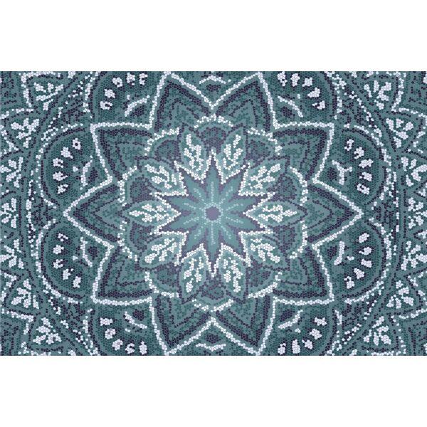 Vinyl Teppich MATTEO Mosaic 2 90 x 135 cm