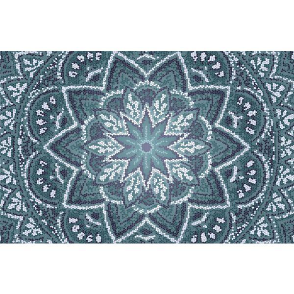 Vinyl Teppich MATTEO Mosaic 2 118 x 180 cm