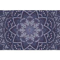 Vinyl Teppich MATTEO Mosaic 3 Dunkelblau
