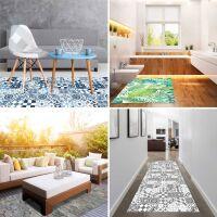 Vinyl Teppich MATTEO Mosaic 3 Dunkelblau 40 x 60 cm