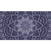 Vinyl Teppich MATTEO Mosaic 3 Dunkelblau 90 x 160 cm