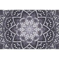 Vinyl Teppich MATTEO Mosaic 4 Dunkelgrau