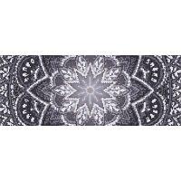 Vinyl Teppich MATTEO Mosaic 4 Dunkelgrau 70 x 180 cm