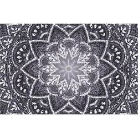 Vinyl Teppich MATTEO Mosaic 4 Dunkelgrau 118 x 180 cm