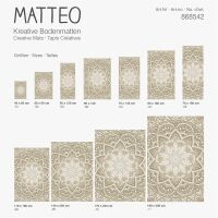 Vinyl Teppich MATTEO Mosaic 5 40 x 60 cm