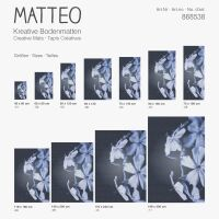 Vinyl Teppich MATTEO Mosaic 1 60 x 90 cm