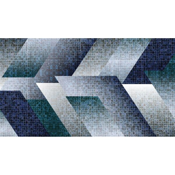 Vinyl Teppich MATTEO Mosaic 6 90 x 160 cm