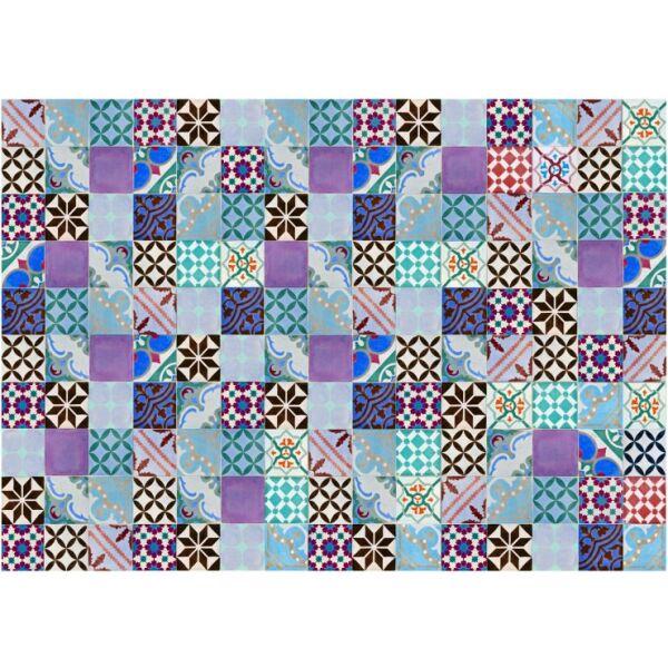 Vinyl Teppich MATTEO Mosaik bunt 2 170 x 240 cm