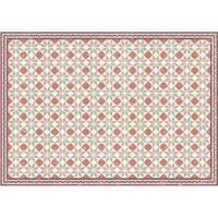Vinyl Teppich MATTEO Fliesen Orange 198 x 300 cm
